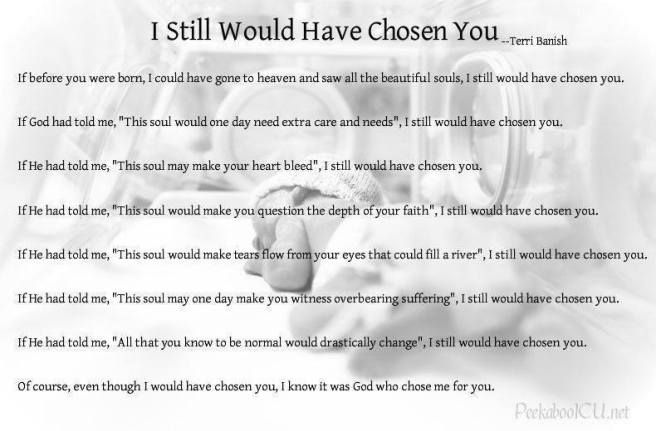 I Still Would Have Chosen You